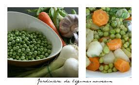cuisiner des petit pois frais petits pois en jardinière à la cocotte cooking