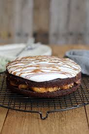 Chocolate Cake with Banana Foster Filling Jessi s Kitchen