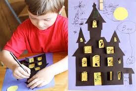 Halloween Picture Books For 4th Grade by Halloween Haunted House Crafts For Kids Pbs Parents