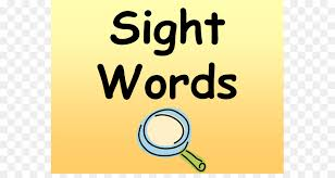 Sight Word Dolch List Family Fluency