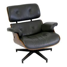 Dark Grey Leather & Rosewood Eames Style Lounge Chair   Chairish Eames Style Lounge Chair Thebricinfo Eames Style Lounge Chair And Ottoman Black Leather Palisander Ottomanwhite Worldmorndesigncom Charles Specialist Hans Wegner Replica The Baltic Post And Brown Walnut Afliving Eames 100 Aniline Herman Miller Century Reproduction 2 Plycraft Style Lounge Chair Ottoman