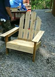 Pallet Adirondack Chair Plans by Pallet Outdoor Chair Inspired Of Adirondack Chairs 101 Pallet