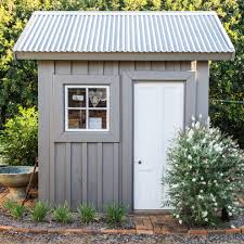 4x8 Metal Storage Shed by Corrugated Metal Roofing Image Sheds I Love Pinterest