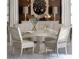 A.R.T. Furniture Inc Roseline 5-Piece Enzo Round Dining Table Set ... 5 Pc Small Kitchen Table And Chairs Setround 4 Beautiful White Round Homesfeed 3 Pc 2 Shop The Gray Barn Spring Mount 5piece Ding Set With Cm3556undtoplioodwithmirrordingtabletpresso Kaitlin Miami Direct Fniture Upholstered Chair By Liberty Wolf Of America Wenslow Piece Rustic Alpine Newberry 54 In Salvaged Grey Art Inc Saint Germain 5piece Marble Set 6 Chairs Tables