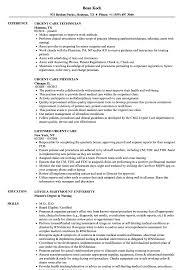 Download Urgent Care Resume Sample As Image File