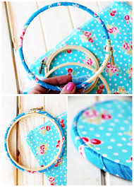 Step By Instructions For How To Bind An Embroidery Hoop And Correct Set Up Hand