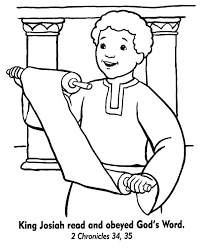 Image Result For King Josiah Coloring Sheet