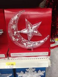 Walmart Selling Islamic Crescent Moon And Star For Tops Of Christmas Trees
