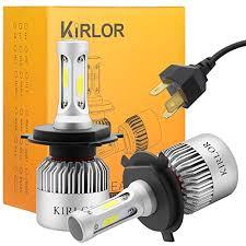 led headlight bulb kirlor led car lights with cob chips 8000
