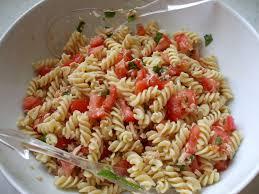 salade de pâtes thon tomate et menthe photo de mes gourmandises