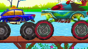 100 Kids Monster Truck Videos Haunted House S Show S Cartoons For