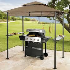 Patio Bistro Gas Grill Home Depot by Outdoor Bbq Gazebo Grill Canopy Sunjoy Grill Gazebo