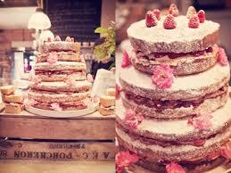 Yummy Victoria Sponge Wedding Cake