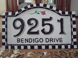 ceramic tile house number plaques image collections tile