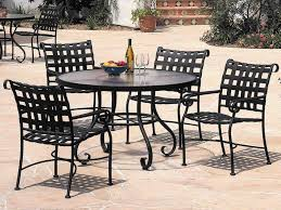 Patio Home Depot Aluminum Table And Chairs Black Metal Set ...