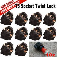 10 x t5 socket twist lock for pc74 instrument panel cluster