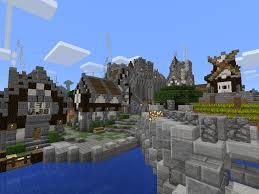 Minecraft Pumpkin Pie Pe by Image Minecraft Medieval City Bridge Png Minecraft Pocket