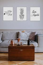 bon appetit a3 4good wandbilder wohnzimmer als lustige