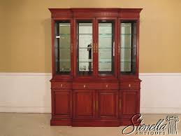 Henredon Breakfront China Cabinet by Www Stenellaantiques Com