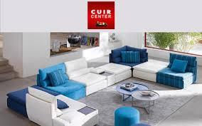 canap angle cuir center photos canapé modulable cuir center