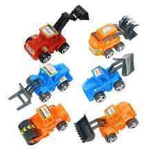 100 Construction Trucks Pull Back Vehicles 6ct