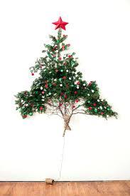 Flat Back Christmas Tree For