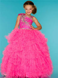 compare prices on pageant dresses for girls glitz one shoulder