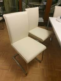 esszimmer stühle leder stühle 6 stück neu