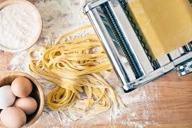 Delicious homemade pasta