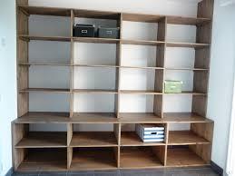 fabrication d un bureau en bois des étagères de bureau sur mesure le djoliba construction de notre