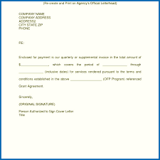 Invoice Email Cover Letter Sample With Plus Quickbooks Together As