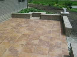 best tile for patio best outdoor tile for patio and outdoor tile for patio do it