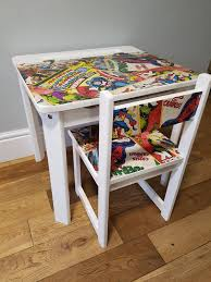 Superhero Childs Desk And Chair . In Folkestone And Hythe ... Delta Children Ninja Turtles Table Chair Set With Storage Suphero Bedroom Ideas For Boys Preg Painted Wooden Laptop Chairs Coffee Mug Birthday Parties Buy Latest Kids Tables Sets At Best Price Online In Dc Super Friends And Study 4 Years Old 19x 26 Wood Steel America Sweetheart Dressing Stool Pink Hearts Jungle Gyms Treehouses Sandboxes The Workshop Pj Masks Desk Bin Home Sanctuary Day
