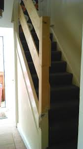 New Stair Banisters Fitted   Ashtons Handyman Property Services Wrought Iron Stair Railings Interior Lomonacos Iron Concepts Remodelaholic Brand New Stair Banister Home Remodel Cost Of Cool Banisters And Model Staircase Wonderful Photos Concept Caan Ct Brooks And Falotico Associates Fairfield County Railings Railing Stairs Kitchen Design Baby Gate For Without Wall Gear Gallery Best 25 Banister Ideas On Pinterest Railing Renovation Using Existing Newel Blog Designed Ideas 67 With Additional Interior