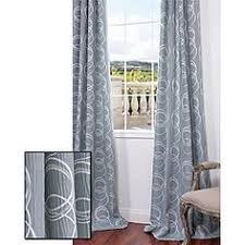 Fingerhut Curtains And Drapes by Fingerhut Prima Colorblock 108 In X 84 In Panel Pair For The