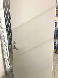 tür badezimmertür türblatt weiss massiv sehr schwer incl