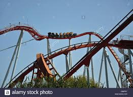 khan port aventura khan rollercoaster ride china portaventura theme park