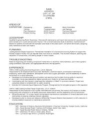 Electrician Apprentice Resume Examples For Study Objective Templates Engineering
