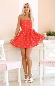 446 best rojo images on pinterest dresses clothes and short dresses