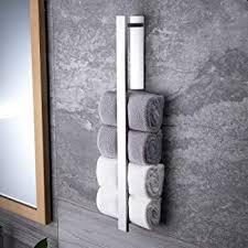 zunto handtuchhalter ohne bohren 55cm gästehandtuchhalter