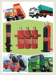 100 Truck Hoist 100 Ton Hidrolik Silinder Untuk Truk Tipper Dump