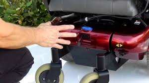pronto m91 red like new power chair youtube