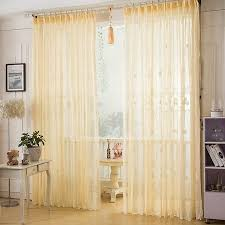 Blue Sheer Curtains Uk by Asian Beige Color Elegant Lace Curtain Living Room Sheer Curtain