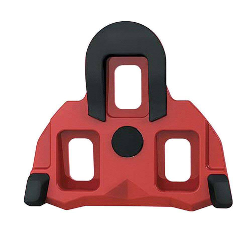 Exustar E-Rsl11 Cleats Set - Red, 4.5 Degree