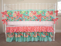 Teal And Coral Baby Bedding by Best 25 Baby Cribs Ideas On Pinterest Princess Nursery