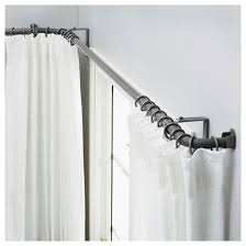 Bendable Curtain Rods Ikea by Corner Window Curtain Rods Ikea Rooms