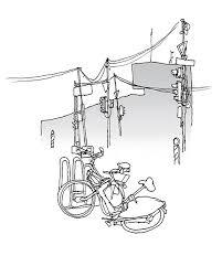 travel sketches karlsruhe