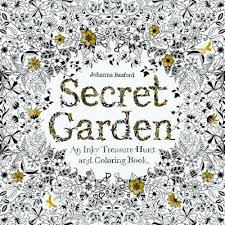 Secret Garden An Inky Treasure Hunt And Coloring Book Paperback