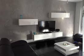 wandgestaltung wohnzimmer betonoptik caseconrad