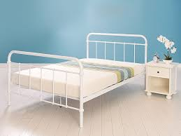 White Metal Bed Frame Ideas